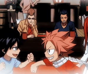 anime, fairy tail, and gif image