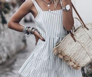 blogger, summer look, and sézane image