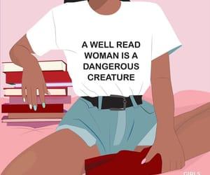 empowerment, art, and girl power image