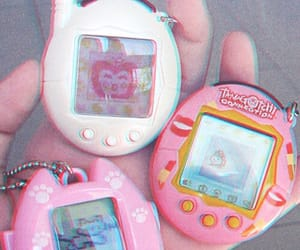 pink, aesthetic, and ta​magotchi image