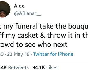 funeral, funny, and marriage image