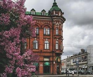 antique, architecture, and autumn image