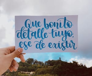 frase, lettering, and spanish quotes image