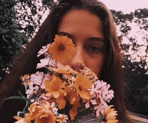 aesthetic, floral, and flower image