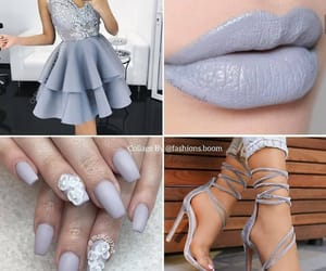 heels, lipcolour, and outfit image
