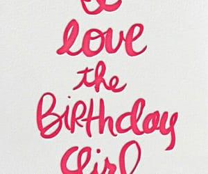 birthday girl and happy birthday image