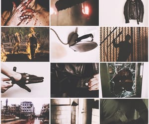 bloody, jeffrey dean morgan, and moodboard image