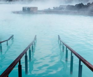 blue, destination, and blue lagoon image