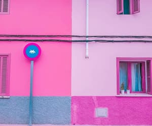 architecture, colors, and facade image