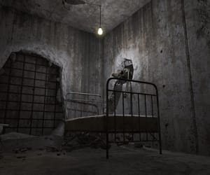 asylum, bed, and room image