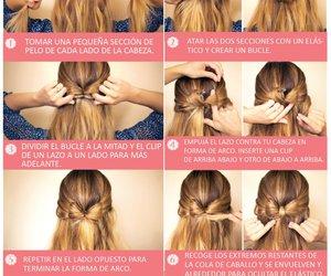 bow, hair, and hair bow image