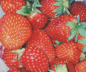 background, FRUiTS, and red image