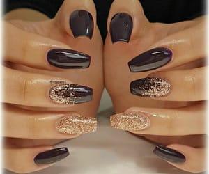 glitter coffin nails image