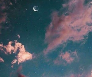 moon, sky, and wallpaper image