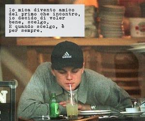 frasi, Leonardo di Caprio, and tumblr image