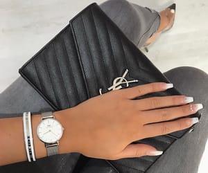 high heels heel, purse purses rich, and daniel wellington image