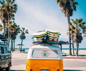 summer, beach, and vans image