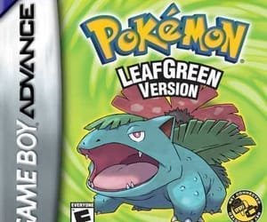 pokemon leaf green rom image