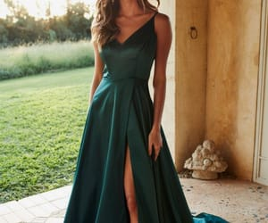 dress, beauty, and evening dresses image
