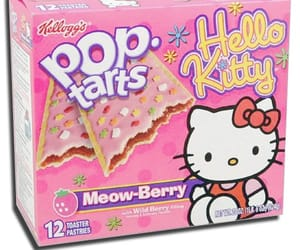 hello kitty, food, and pop tarts image