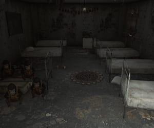 asylum, monkeys, and beds image