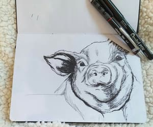 amazing, animals, and sketch image