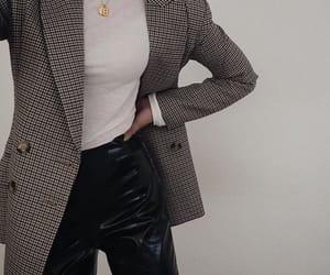 fashion, blazer, and classy image