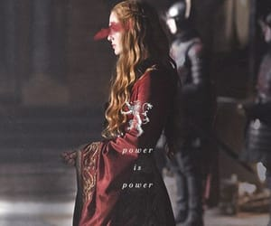 game of thrones, lannister, and cersei image