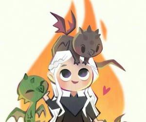 game of thrones, daenerys targaryen, and mother of dragons image