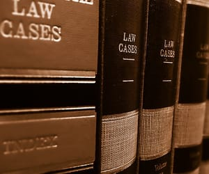 Law and books image