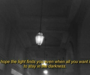 quotes, Darkness, and love image