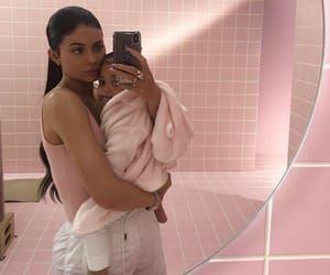 kylie jenner, stormi, and stormi webster image