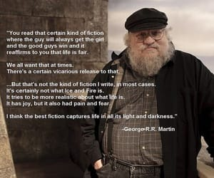 game of thrones and george r. r. martin image