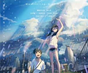 anime, anime girl, and anime scenery image