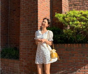 dress, kfashion, and korean fashion image
