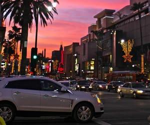 california, sunset, and travel image