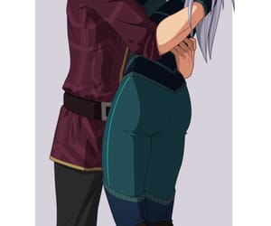 the dragon prince and rayla & callum image