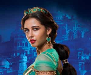 aladdin, princess jasmine, and liveaction image