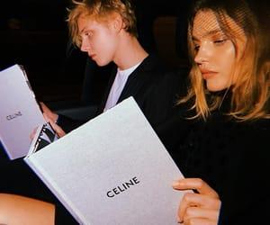 celine and model image
