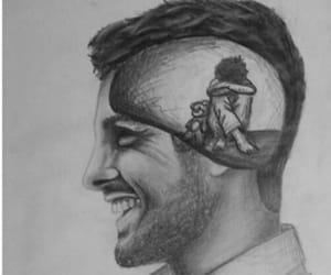sad, smile, and art image