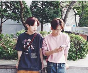 mark, jinyoung, and got7 image
