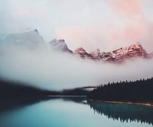 colors, lake, and landscape image