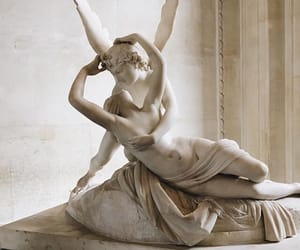 love, art, and louvre image