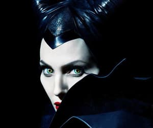 Darkness, disney, and maleficent image