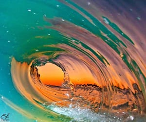 colors, sea, and ocean image