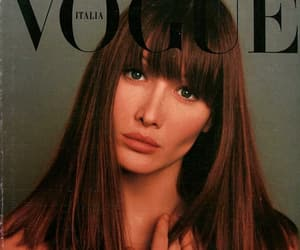 Carla Bruni, vogue, and model image
