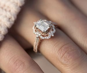 ring, jewelry, and diamond image