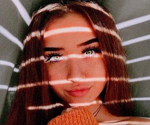 eyes, model, and baddie image