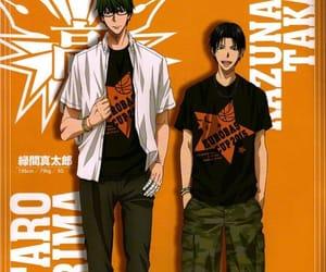anime, takao, and kuroko no basket image