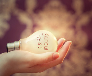 girl, light, and quote image